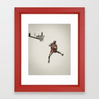 MJ50 Framed Art Print