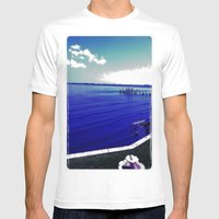 Verano Fresco Mens Fitted Tee White SMALL