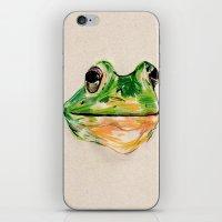 BachelorFrog iPhone & iPod Skin