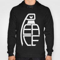 Peace Grenade Typography… Hoody