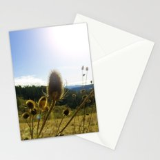 Colorful Winter Day Stationery Cards