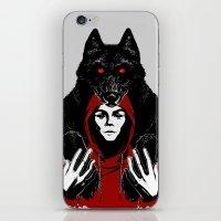 red ridin' hood iPhone & iPod Skin