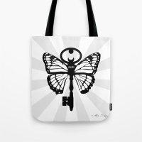 The Key Of Liberty (自由) Tote Bag