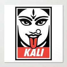 Obey Kali Canvas Print