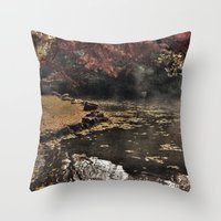 Lights and colors Throw Pillow