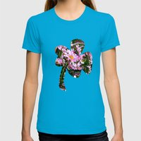 Sunspot Womens Fitted Tee Teal SMALL