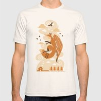 The Flying Fox's First F… Mens Fitted Tee Natural SMALL