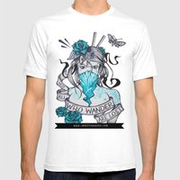Masochist's Muse Mens Fitted Tee White SMALL