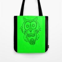 Owl Of The Day Tote Bag