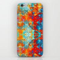 popanaart_pattern iPhone & iPod Skin