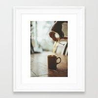 Chemex  Framed Art Print