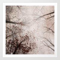 SILENT FOREST 2 Art Print