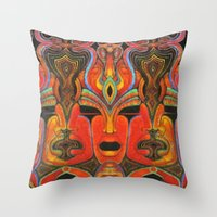 Self-Reflections Throw Pillow