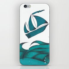 Poseidon Goddess of the Sea iPhone & iPod Skin
