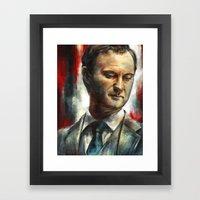 Mycroft Holmes Framed Art Print