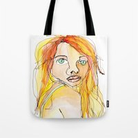 I Hate My Face. Tote Bag