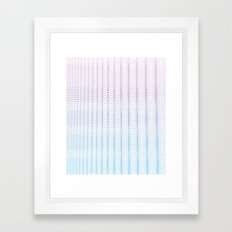 Circle Gradient Framed Art Print