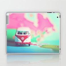 Red & White VW Bus Laptop & iPad Skin
