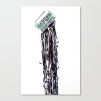 leakage Canvas Print