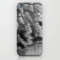iPhone & iPod Case featuring Lakeside by Niki Smith