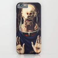 iPhone & iPod Case featuring Pale Man With Crown by Hillary White