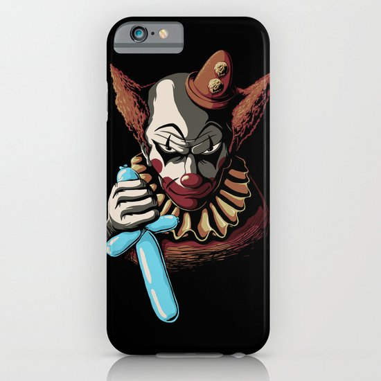 Clowns are Evil iPhone & iPod Case