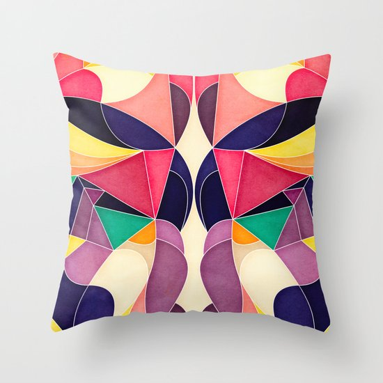 Lovely Story Throw Pillow