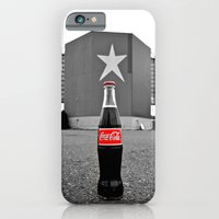 iPhone & iPod Case featuring Drive-in cola by Vorona Photography