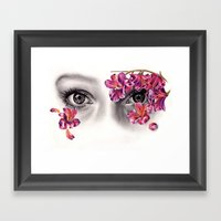 This Night Has Opened My… Framed Art Print