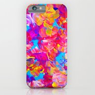 iPhone & iPod Case featuring FLORAL FANTASY Bold Abst… by EbiEmporium