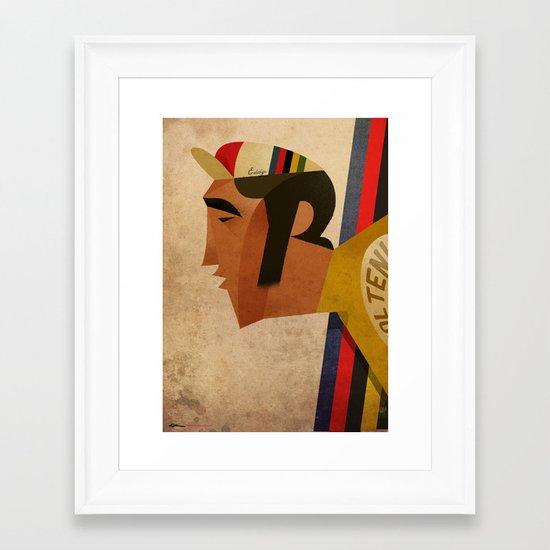 Eddy Framed Art Print