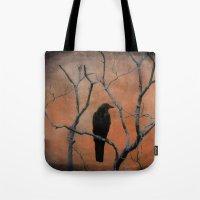 Nature Blackbird Tote Bag