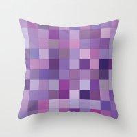 Rando Color 3 Throw Pillow