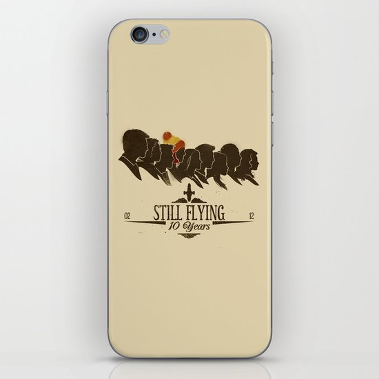 Still Flying iPhone & iPod Skin