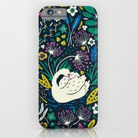 iPhone & iPod Case featuring Wild Swan by Anna Deegan