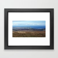 The Point Of Ayre And Ra… Framed Art Print