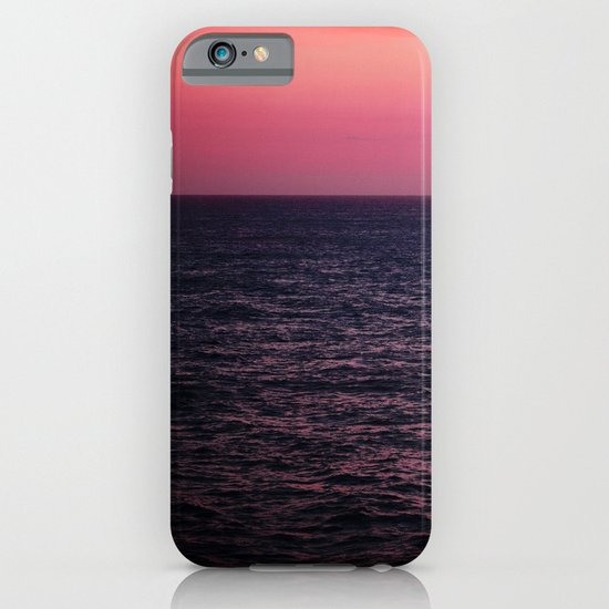 Pretty Pink Sunset iPhone & iPod Case