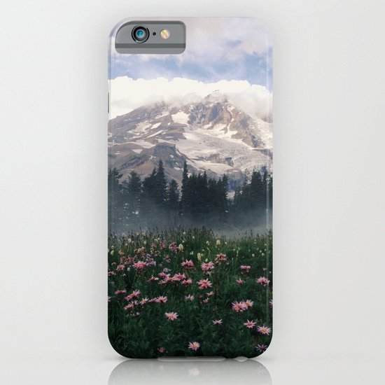 Mt Rainier iPhone & iPod Case