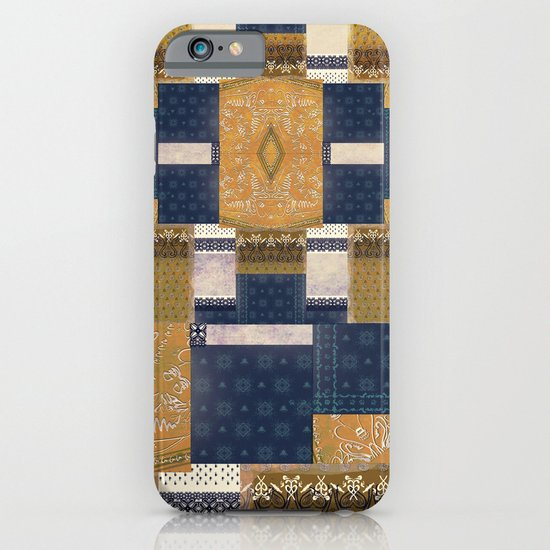 Blue Gold iPhone & iPod Case