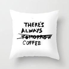 Coffee Throw Pillow