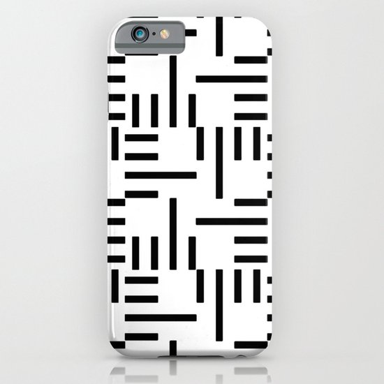 Kemper Black & White iPhone & iPod Case