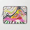 """Melophobia"" by Steven Fiche Laptop Sleeve"