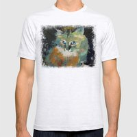 Himalayan Cat Mens Fitted Tee Ash Grey SMALL