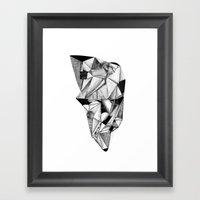 Discurso Convincente Sob… Framed Art Print