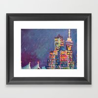 From Vancouver Harbour Framed Art Print