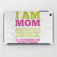I am Mom iPad Case