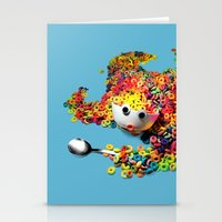 Clumsy Mornings Stationery Cards
