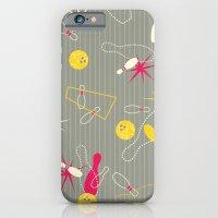 Bowling Pinstripe iPhone 6 Slim Case