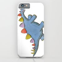 Stomp-a-saurus! iPhone 6 Slim Case