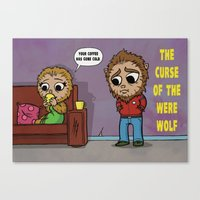 The Curse of the Werewolf Canvas Print